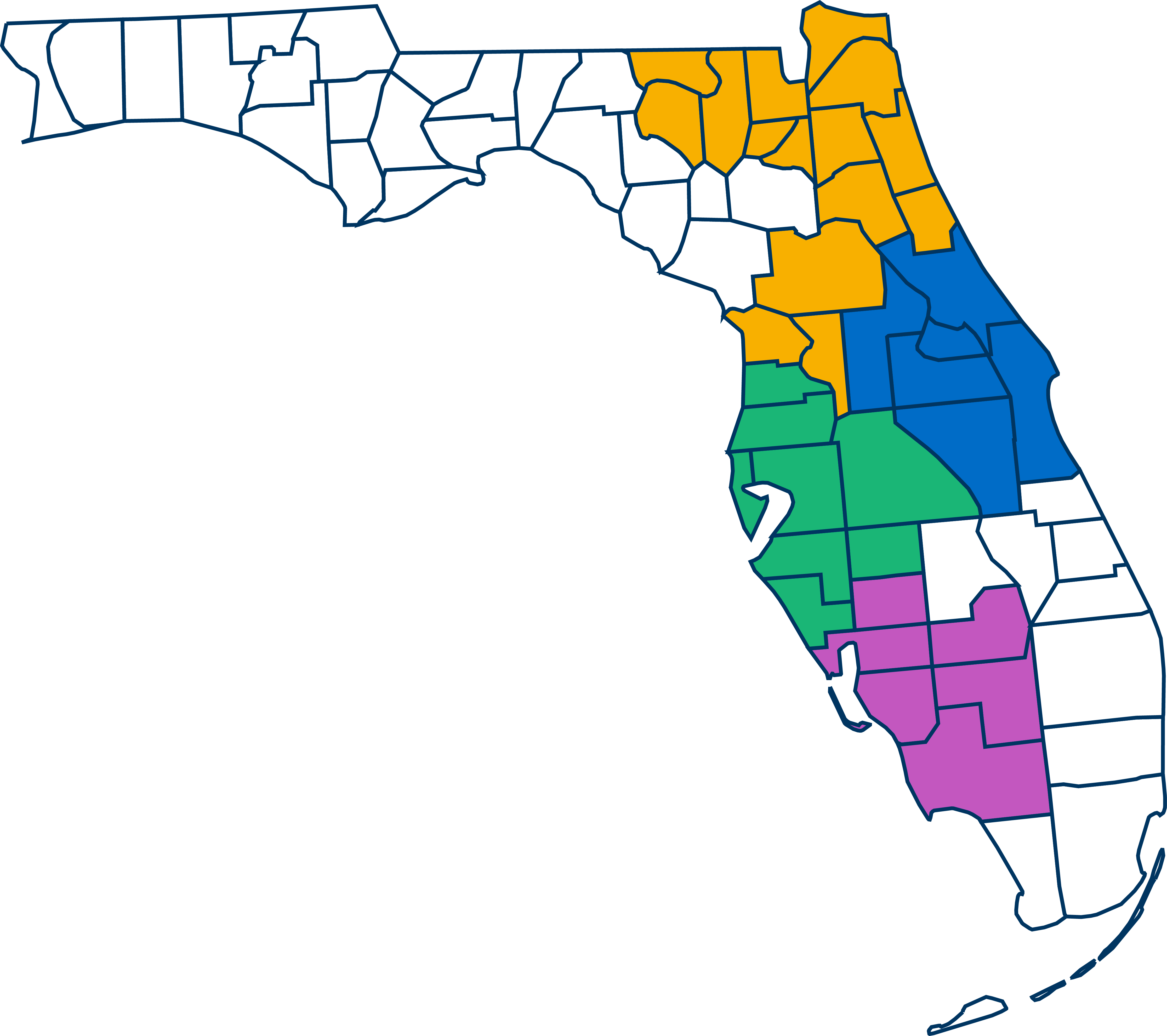 Florida Middle Districts